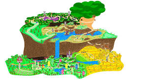 Uo Map Super Mario World 3d Map Image Gallery Hcpr