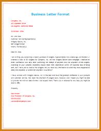 business letter format proper business letter format letter format template