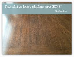 Heated Laminate Flooring How To Remove Heat Stains From Wood Table Unac Co