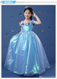 2016 new cinderella kids dress retail princess dress off
