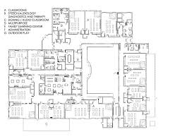 Floor Plan For Classroom Early Childhood Learning Center Designshare Projects