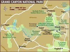 grand national park map map of zion and grand national parks click to