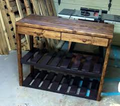 reclaimed kitchen island reclaimed pallet kitchen island table 99 pallets