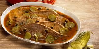 cuisiner le veau marmiton langue de veau sauce piquante recettes femme actuelle