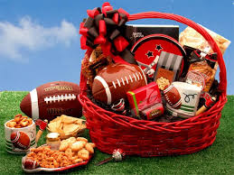 food baskets to send football gift baskets football gifts sports gift baskets gift