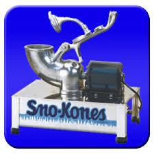 snow cone machine rental concession rentals canton medina oh inflatables mobile