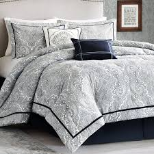 Modern Bedding Sets Master Bedroom Luxury Bedding 12 Pc Reversible Elizabeth Queen