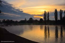 melancoly river korana this morning karlovac came saw loved