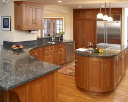 Best Cherry Cabinets Images On Pinterest Cherry Cabinets - Cherry cabinet kitchen designs