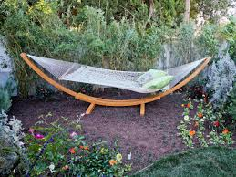 outdoor lounging spaces daybeds hammocks canopies and more