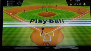 wii playing the best baseball game ever youtube