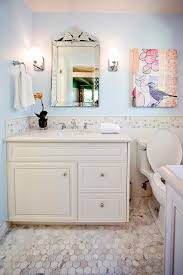 bathroom chair rail ideas tile chair rail bathroom contemporary with custom vanity