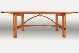 arts and crafts table for custom farm table stauffer woodworking