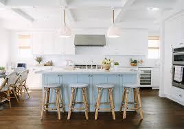 blue kitchen island cabinets inspiring white kitchen with light blue island home bunch