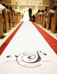 personalized wedding aisle runner wedding runners best wedding ideas inspiration in 2017 wedding
