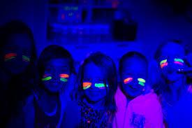 black light party ideas black light paint party ideas black light party for kids 5 min ideas