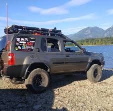 nissan xterra lifted off road wd22