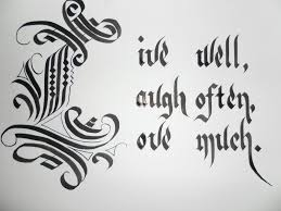 calligraphy live laugh love by rwel on deviantart