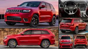 yellow jeep grand cherokee jeep grand cherokee trackhawk 2018 pictures information u0026 specs