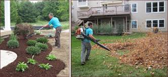Fall Cleanup Landscaping by Spring Clean Ups And Fall Clean Ups Heartwood Landscape And Tree