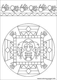 easy simple mandala 53 coloring pages printable