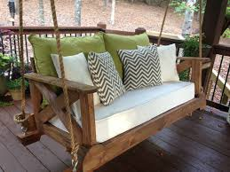 56 diy porch swing plans free blueprints crib mattress