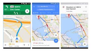 Google Maps Navigation Google Maps Gets Real Time Detour Mapping