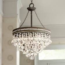 Acrylic Crystal Chandelier Drops by Regina Olive Bronze 19