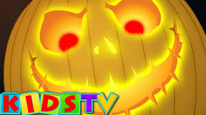 scary pumpkin halloween nursery rhymes for kids and children kids