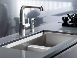 new kohler 8 degree stainless steel kitchen sink with beveled edge