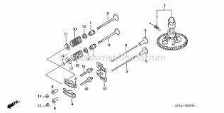 honda gxv390 parts list and diagram type daet vin gjaa