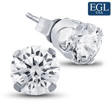 diamond stud earring diamond stud earrings from the jewelry exchange and