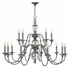15 light chandelier polished antique nickel eleanor u003e interior hanging