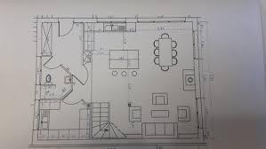 plans de cuisines ouvertes plan de cuisine ouverte sur salle a manger evtod