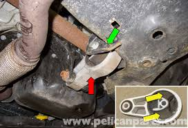 mini cooper r56 lower engine mount replacement 2007 2011