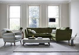 City Loft Fabric Footstool Furniture Village - Sofa and footstool