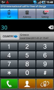 call for android oto free international call free android app android freeware