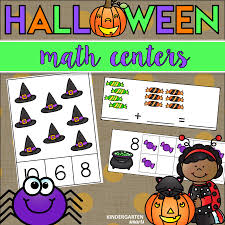 halloween math halloween math centers with a freebie kindergarten smarts