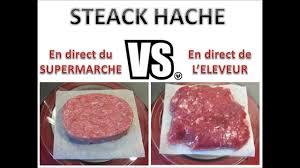 cuisiner steak hach steak industriel vs steak fermier le verdict de la cuisson