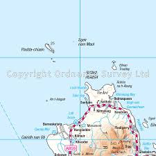 western scotland u0026 the western isles os road map 2 stanfords