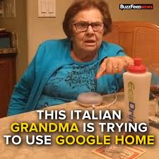 Meme Grandma French - buzzfeed this italian grandmother trying to use google
