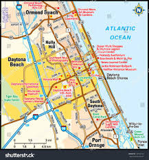 Map Of Flordia Map Of Daytona Florida You Can See A Map Of Many Places On The