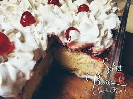 tres leches cake with strawberry cheesecake topping u2013 my secret