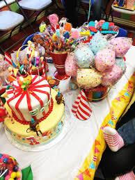 my niece u0027s circus themed birthday party turning one u2013 a full