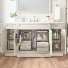 the kitchen sink cabinet organization undersink bath storage bundle