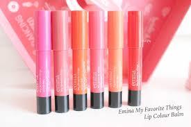 emina my favourite things lip colour balm review u0026 swatch jean milka