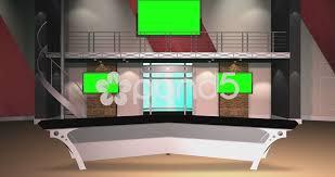 tv studio desk 4k hd virtual tv studio set hi res video 45838786