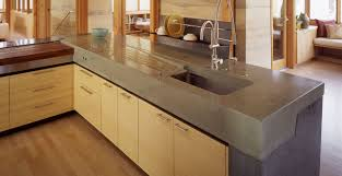 Countertop Kitchen Sink Concrete Counter Tops Kitchen Concrete Countertop Gallery Cheng