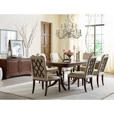 Double Pedestal Dining Room Tables Traditional Double Pedestal Dining Table With 18th Century Styling