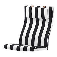 Armchair Cushion Poäng Armchair Cushion Stenli Black White Ikea